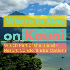 """Planning a vacation to Kauai? Here are my 15 """"must do"""" experiences. This list has all the good stuff like Hanalei Bay, Waimea Canyon, and the Napali Coast. Let me know what you think...what's your favorite thing to do on Kauai?"""
