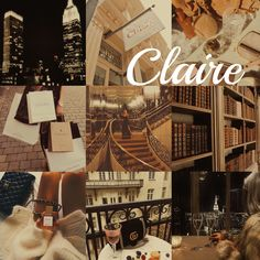 Claire // name aesthetic