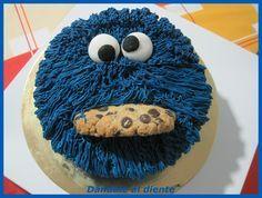 Dándole al diente: Tarta de chocolate Triki, monstruo de las galletas