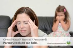 Ready to make changes to your parenting, but don't know where to start Contact me today for more information about parent coaching