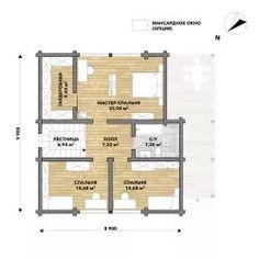 Уникальные проекты домов, бань и других строений. Проект СВ-3 - яркий пример профессиональной работы команды Good Wood. Заказывайте услуги архитекторов, конструкторов и инженеров у нас и обретите дом своей мечты. Cabin Plans With Loft, My Dream Home, House Plans, Floor Plans, Cottage, Exterior, House Design, How To Plan, Interior Design