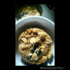 Blueberry-Almond Oatmeal Cookies