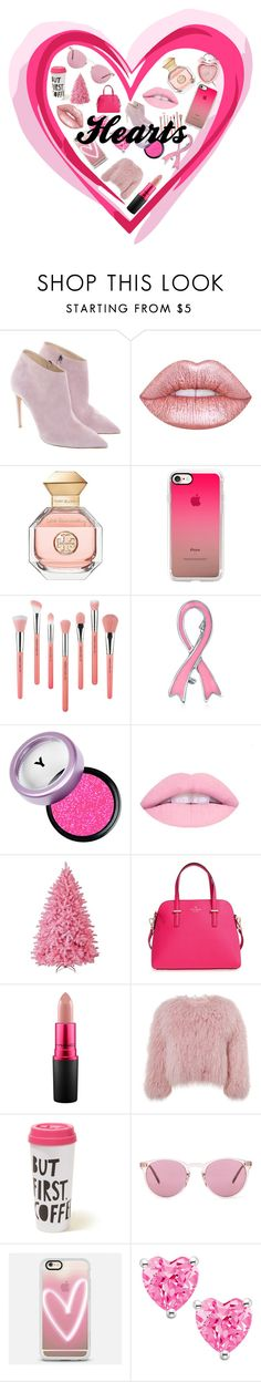"""""""Hearts"""" by ameliacaller ❤ liked on Polyvore featuring Ralph Lauren, Lime Crime, Tory Burch, Casetify, Bdellium Tools, Bling Jewelry, Kate Spade, MAC Cosmetics, Charlotte Simone and Hollister Co."""