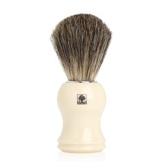 Perie pentru barbierit Edwin Jagger #cosmetice #cadouri #cadouribarbati #crabtreeevelyn Natural Shaving Cream, Edwin Jagger, Badger Shaving Brush, Ingrown Hair, Perfect Christmas Gifts, Ivory, Pure Products, Face, Beauty