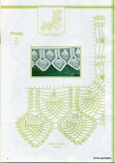 crochet - bicos - barrados - edgings – Raissa Tavares – Picasa tīmekļa albumi
