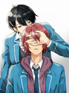Ensembles stars Ritsu and Mao Manga Art, Anime Art, Ensemble Stars, Shadow Hunters, Pose Reference, Yandere, Anime Couples, Japanese Art, The Magicians