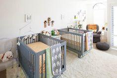 Glass Castle: Gender-Neutral and Modern Nursery in Rancho Santa Fe. #BestSDHomes