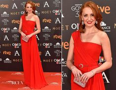 Cristina Castaño In Versace – 2017 Goya Awards