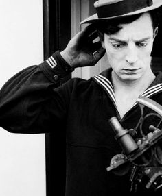 """Buster Keaton ·""""The Navigator""""  Joseph Frank """"Buster"""" Keaton was an American comic actor, filmmaker, producer and writer. He was best known for his silent films, in which his trademark was physical comedy with a consistently stoic"""