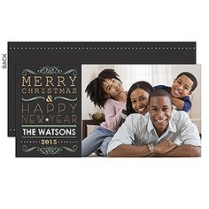 Send warm holiday greetings with the 'Tis The Season Digital Photo Postcards. Find the best personalized Christmas cards at PersonalizationMall.com