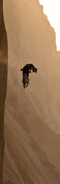 Long way down. extreme sports red bull