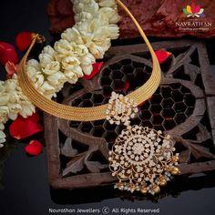 Gold Chain Design, Gold Jewellery Design, Fancy Jewellery, Diamond Jewelry, Gold Jewelry, Simple Jewelry, Diamond Pendant, Bridal Jewelry, Antique Jewelry