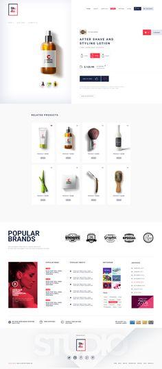 Studio Salon   A Modern Salon And Business Psd Template by 0effortthemes