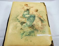 Family Antique Photo Album in Celluloid 1800 by Dupasseaupresent
