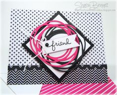 Crafty and Creative Ideas: Swirly Scribbles Challenge Card - DSC#184