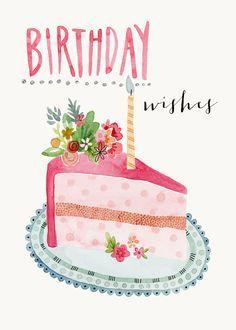 slice-of-cake happy birthday Happy Birthday Quotes, Happy Birthday Images, Happy Birthday Greetings, Birthday Messages, Birthday Pictures, Birthday Greeting Cards, Birthday Clips, Birthday Posts, Birthday Love