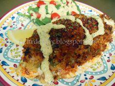 Fleur de Lolly: Crab Stuffed Catfish Fillets with Cajun Remoulade Sauce
