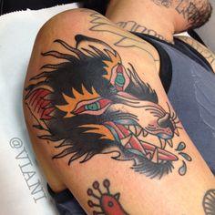 A tattoo I did