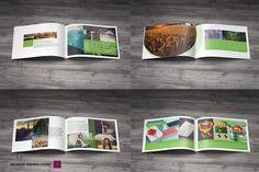 Multipurpose Portfolio Brochure by Madhabi Studio on @creativemarket