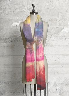 Silk Square Scarf - Love Tangle Scarf by VIDA VIDA 0eTwIp