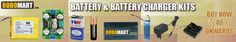 Biggest online megastore for batteries, battery chargers, lipo batteries, rechargeable batteries, and lots more at best buy prices.
