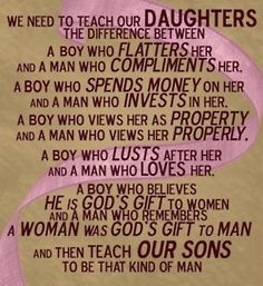 <3 - Something to teach my sons.