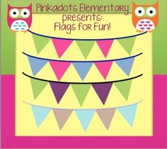 Fun Flags **Freebie**