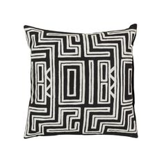 Fun art deco pillow