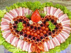 Tablo gibi süslü salatalar, salata süsleme sanatına örnekler, Süslü Salatalar, İlginç salata fotoğrafları, Photos of Tune , Tune Photos , Her Telden Resimler , Her Telden Fotoğraflar