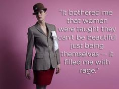 """Rain Dove turned plenty of heads at New York's Fashion Week as she walked the runway in both menswear and womenswear, but the strikingly handsome 6-foot-2 model doesn't really care what you think she has between her legs. """"The gender thing doesn't exist; it's a social construct you don't have to fit into,"""" Dove told BuzzFeed News.Dreams"""