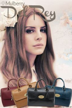 Mulberry Del Rey Lana Del Rey. How lovely! Magenta Hair f62cb91e1dcfd