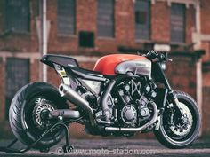 Mi Café, mi dragster : Yamaha V Max Yard Built INFRARED par JvB Moto