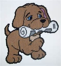 free plastic canvas puppy patterns Yahoo Search Results