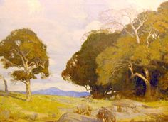 Carl Oscar Borg oil painting A Sacred Grove