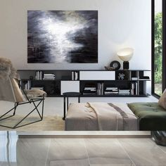 Extra Large Wall Art on Canvas Original Abstract Paintings image 7 Large Abstract Wall Art, Large Painting, Canvas Wall Art, Oversized Wall Art, Extra Large Wall Art, Modern Wall Decor, Textured Walls, Original Paintings, Acrylic Paintings