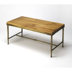 Gratton Iron & Wood Cocktail Table by Butler Specialty Company 2884330 – The Rustic Furniture Store Decor, Furniture, Table, Home Decor, Cool Coffee Tables, Wood Cocktail Table, Wooden Tables, Pine Coffee Table, Cocktail Tables