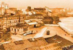 El orzan, así era. Old Pictures, Nostalgia, Tumblr, Painting, Industrial, City, San Andres, Towers, Viajes