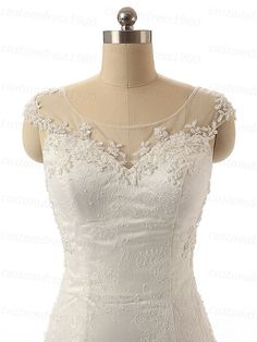 Amazing beading/crystal organza wedding dress,white/ivory lace mermaid wedding dresses,handmade lace sweetheart bridal dress 1.About this cheap