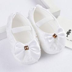 Humor 2019 Cute Infant Girls Shoes Dot Bowknot Soft Bottom Prewalker Spring Autumn Children Shoes First Walkers We Have Won Praise From Customers Mother & Kids