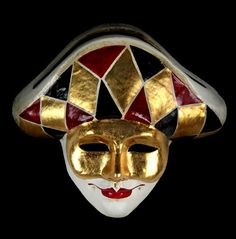Image result for BEAUTIFUL Arlecchino MASKS