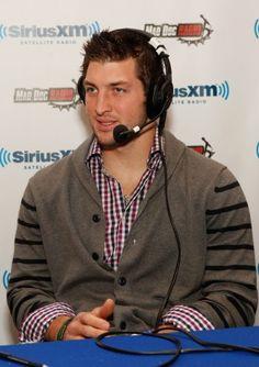 Tim Tebow- He wears Cardis :)
