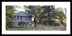 Abandoned Farm Framed Print By Bonfire #Photography