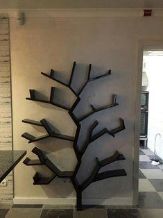 Tree Bookshelf, rustic bookshelf, tree shelf, interior, Hand Made Tree Bookshelf, Nursery Bookshelf, Rustic Bookshelf, Tree Shelf, Cool Bookshelves, Bookshelf Design, Bookshelf Decorating, Shelf Wall, Wall Bar
