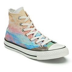 1a915f775c49 Women s Converse Chuck Taylor All-Star Photo Real High-Top Sneakers Purple  Sneakers