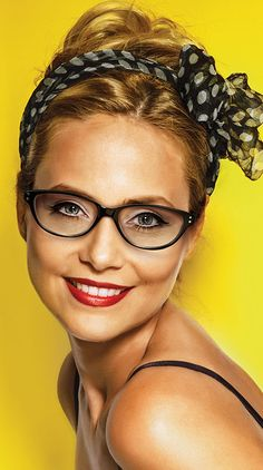 Women's Eye glasses by Genevieve Boutique Collection from Modern Optical International; cat-eye style, stylish reflect frame available in black, brown tortoise and lilac tortoise colors.