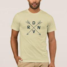 #customized - #Denver Colorado Navy Blue Cross Arrow Shirt