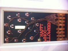 mummy door wrapped in love inspiration decorations home decor halloween kids child classroom bulletin boards pinterest halloween kids