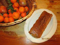 Κεικ μανταρινιου Sausage, Meat, Food, Eten, Sausages, Meals, Diet