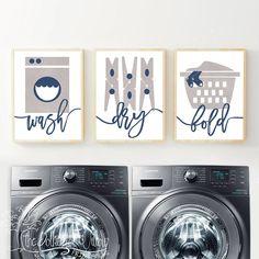 Laundry Room Print - Laundry Room Print, Laundry Room Art, Laundry Room Poster, Laundry Wall A Grey Laundry Rooms, Laundry Room Wall Decor, Laundry Room Signs, Laundry Room Organization, Room Decor, Art Decor, Laundry Shop, Laundry Area, Vintage Laundry
