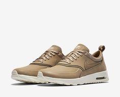 online store 42cd9 a18eb Nike Air Max Thea Premium Camel